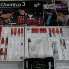 Juguetes antiguos: ANTIGUO JUEGO DE QUIMICA 3. Lote 68347637
