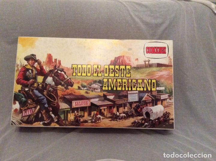 Juguetes antiguos: Todo el oeste Americano de Comansi - Foto 2 - 68609853