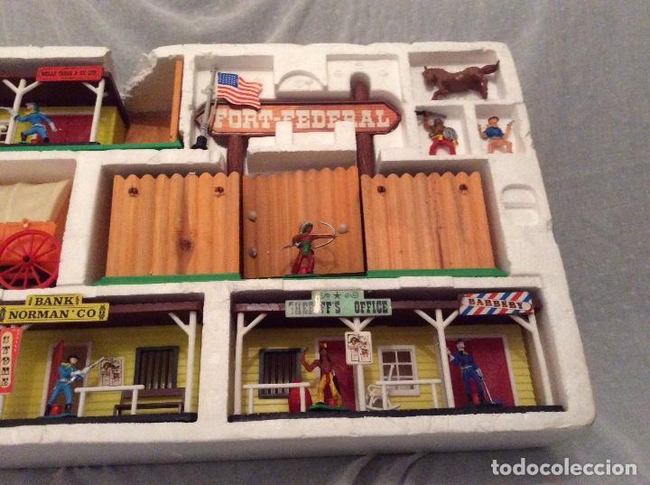 Juguetes antiguos: Todo el oeste Americano de Comansi - Foto 6 - 68609853