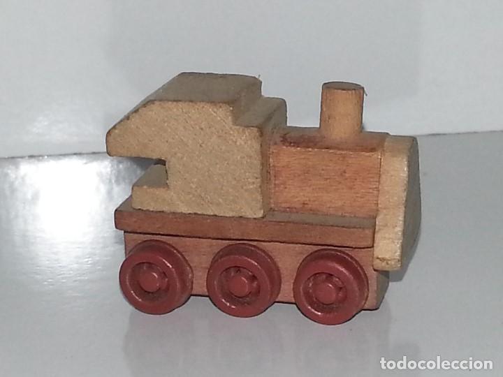 Goula antigua figura juguete de madera miniat comprar - Juguetes antiguos de madera ...