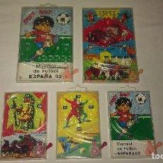 Juguetes antiguos: LOTE DE 5 JUEGOS / JUEGO DE BOLAS DEL OESTE, SPORT BILLY, ETC DE LOS AÑOS 70 Y 80 - ESPAÑA 82 -. Lote 69012493