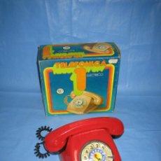 Juguetes antiguos: 12 TELEFÓNICA 1 DE RIMA. Lote 70157409