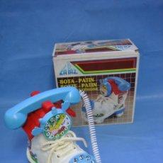Juguetes antiguos: 11 JUGUETE TELÉFONO INFANTIL BOTA PATÍN DE LA PAZ. Lote 70181261