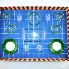 Juguetes antiguos: VAJILLA MENAJE DE JUGUETE 12 PIEZAS CCA1970. Lote 71951951