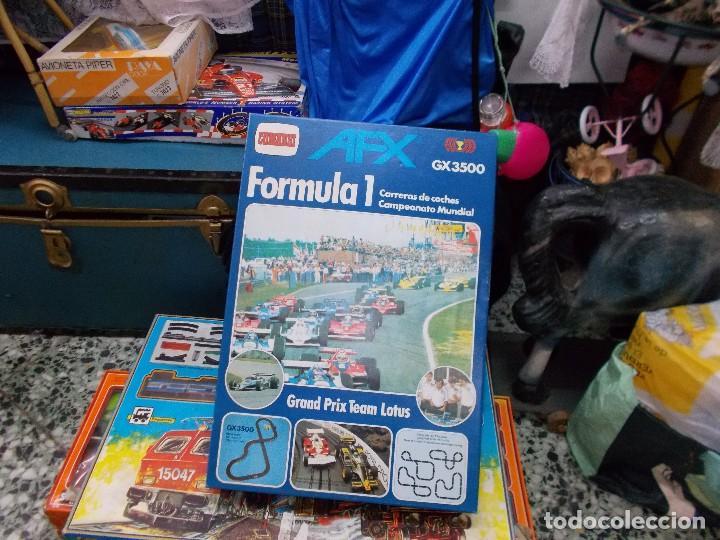 Juguetes antiguos: Caja pista formula 1 marca Yolanda practicamente nueva ,es un resto de almacen - Foto 2 - 73542663