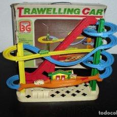 Juguetes antiguos: PISTA TRAWELLING CAR JUGUETES BERNABEU GISBERT. Lote 74842507