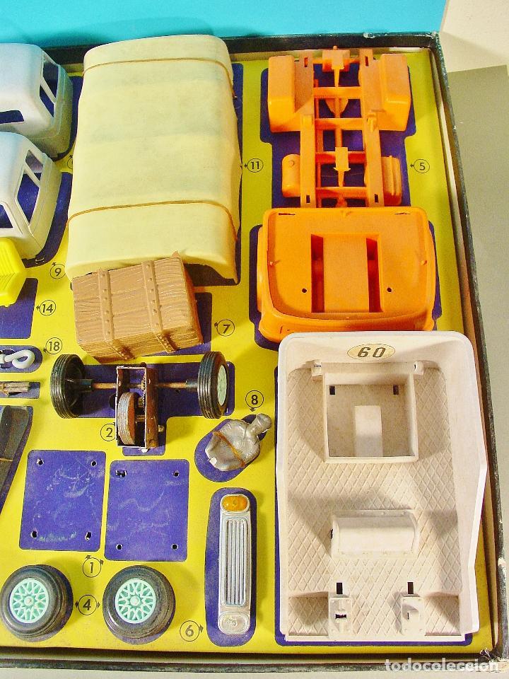 Juguetes antiguos: CAMIONES GEYPER. CAJA GRANDE. REF. 504. CASI COMPLETO - Foto 5 - 74850343
