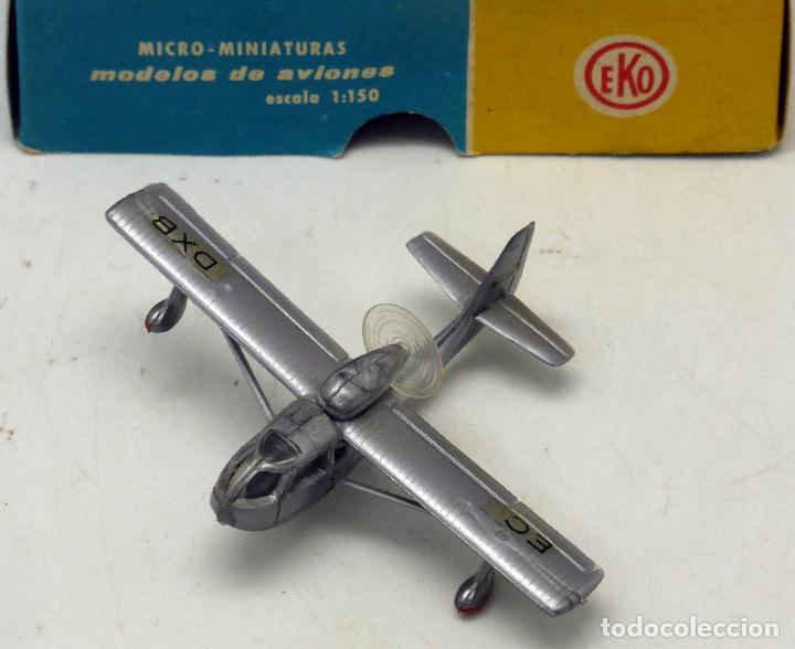 Juguetes antiguos: Avioneta Eko Messerschmitt Me 109 con caja - Foto 2 - 75226379