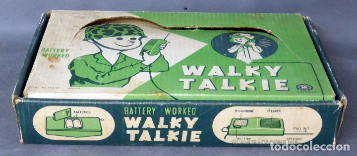 Walky Walkie Talkie Battery worked Made in Japan años 70 Ref 552187 Funciona segunda mano