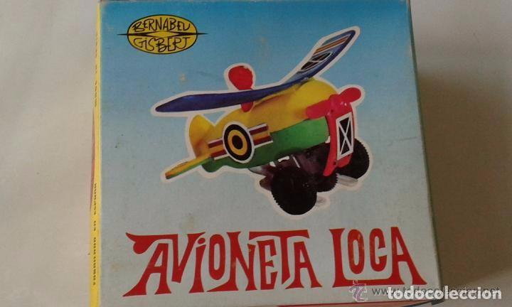 Juguetes antiguos: Avioneta loca - Foto 2 - 76819007
