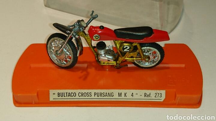 BULTACO PURSANG MK 4 CROSS DE GUILOY REF 273 (Juguetes - Marcas Clasicas - Otras Marcas)
