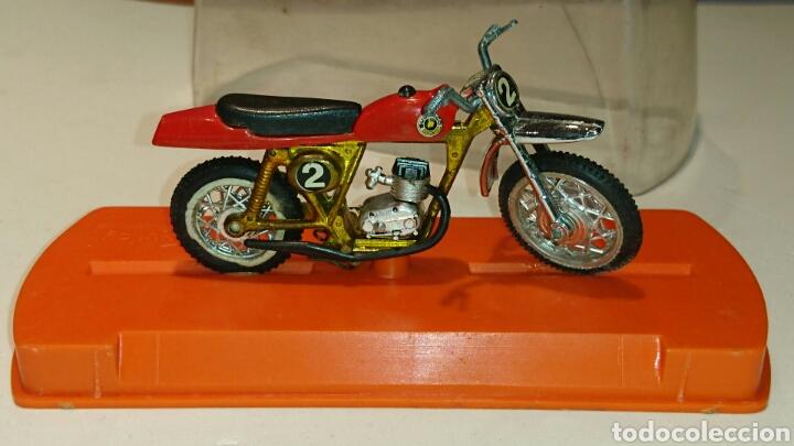 Juguetes antiguos: Bultaco Pursang Mk 4 cross de Guiloy ref 273 - Foto 2 - 76894219
