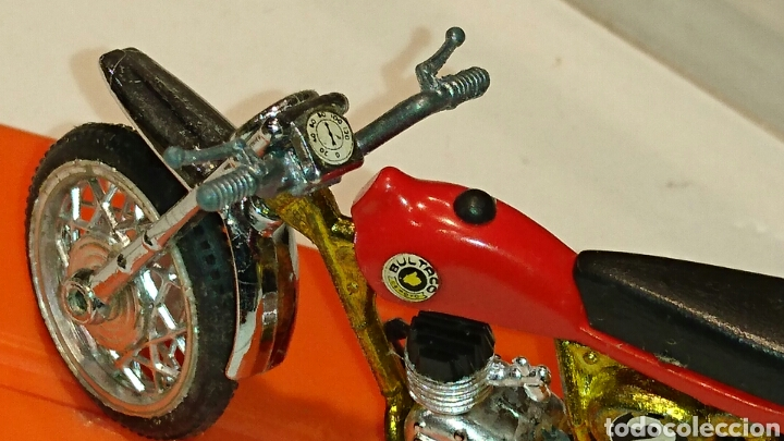 Juguetes antiguos: Bultaco Pursang Mk 4 cross de Guiloy ref 273 - Foto 3 - 76894219