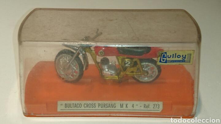Juguetes antiguos: Bultaco Pursang Mk 4 cross de Guiloy ref 273 - Foto 7 - 76894219