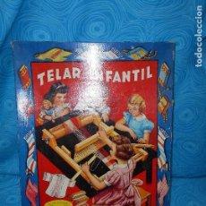 Juguetes antiguos: ANTIGUO TELAR PARA NIÑAS,MARCA INVICTA, AÑOS 50 ( REF 3 ). Lote 77488793
