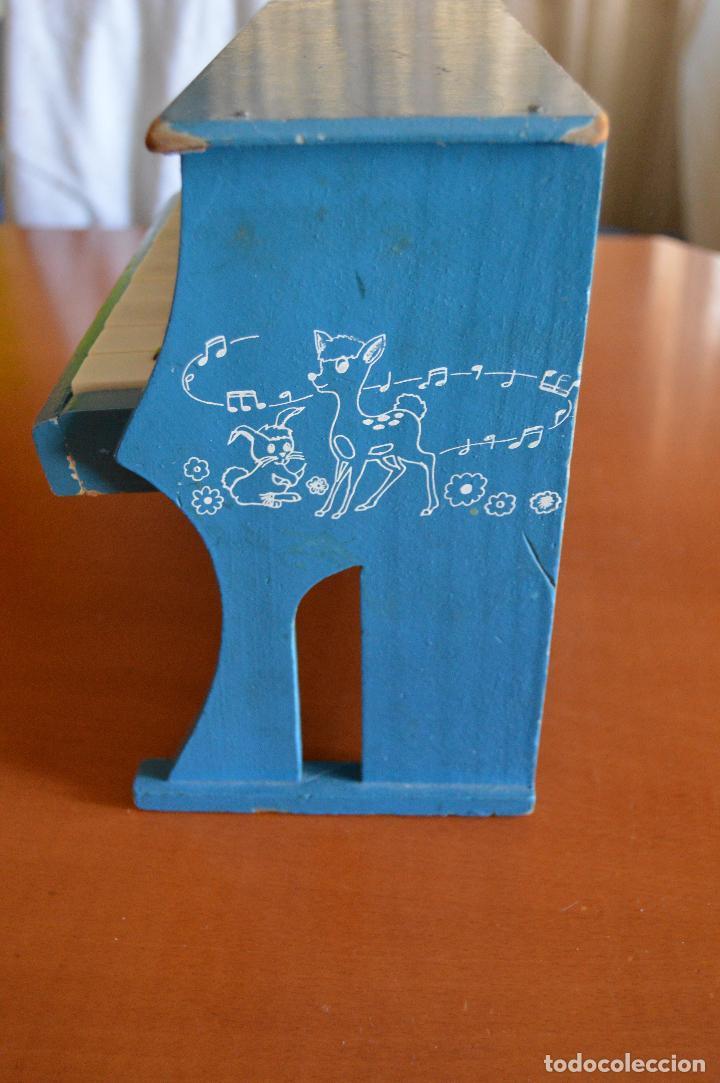 Juguetes antiguos: PIANO DE MADERA ** JUGUETES MEDITERRANEO * AÑOS 70 - Foto 5 - 78155457