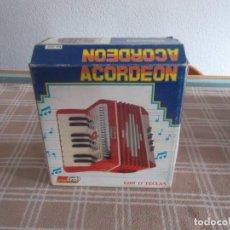 Juguetes antiguos: ACORDEON DE LOS AÑOS 70. Lote 78482825