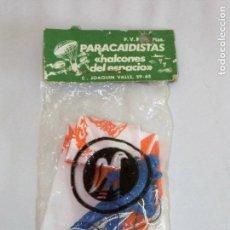 Juguetes antiguos: PARACAIDISTAS HALCONES DEL ESPACIO JUGUETE ESPAÑOL AÑOS 80. Lote 79540673