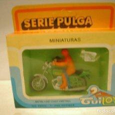 Giocattoli antichi: GUILOY MOTO SANGLAS SERIE PULGA. Lote 79552285