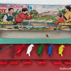 Juguetes antiguos: TIRO DE PICHON. JEFE SALUDES. ESPAÑA. CIRCA 1950. . Lote 80438989