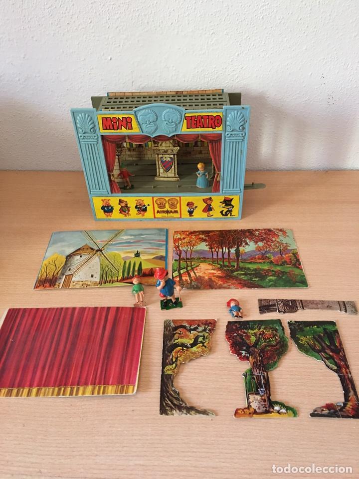 Juguetes antiguos: MINI TEATRO AIRGAM- AÑOS 60- JUGUETE ANTIGUO - Foto 2 - 80458069