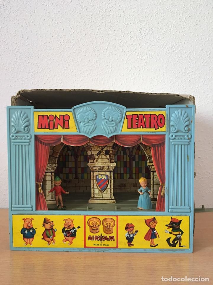 Juguetes antiguos: MINI TEATRO AIRGAM- AÑOS 60- JUGUETE ANTIGUO - Foto 3 - 80458069