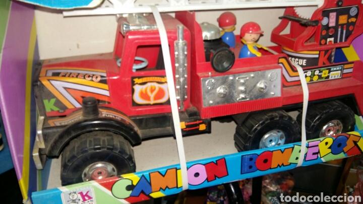 Juguetes antiguos: Camion bomberos karpan - Foto 2 - 81204298