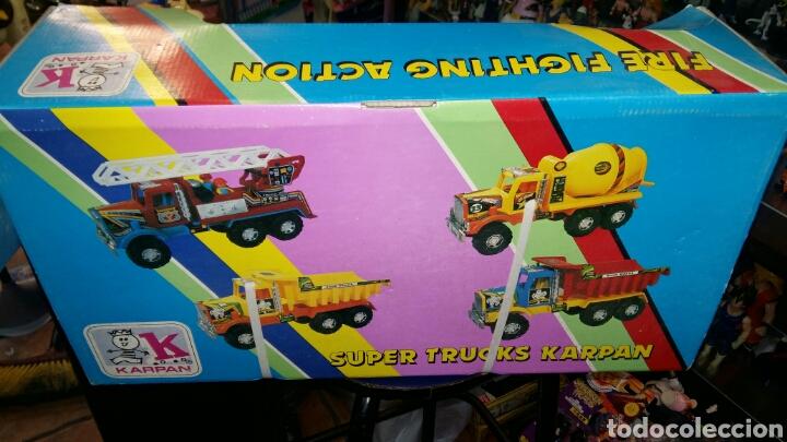 Juguetes antiguos: Camion bomberos karpan - Foto 4 - 81204298