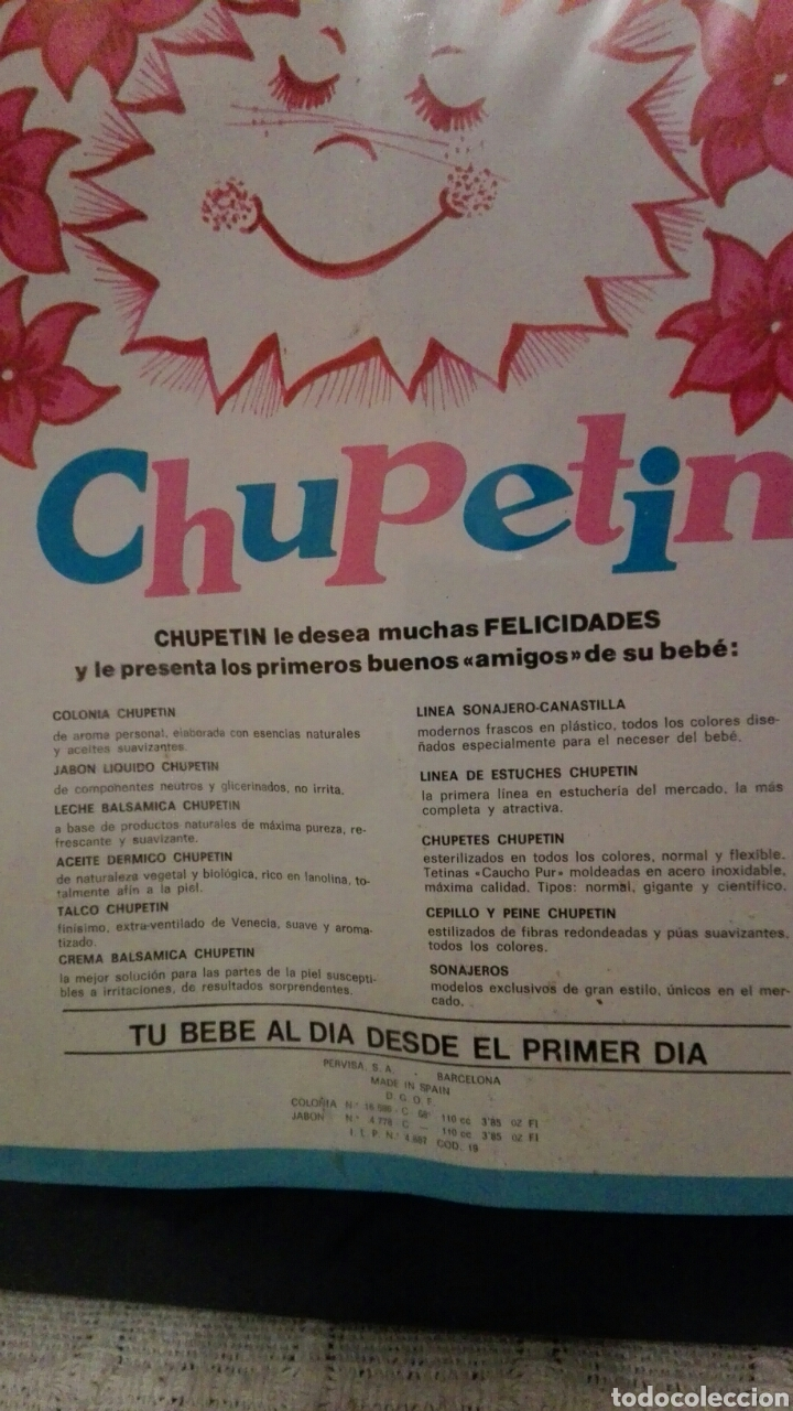 Juguetes antiguos: «Chupetin»set de baño,buen estado - Foto 5 - 81581347