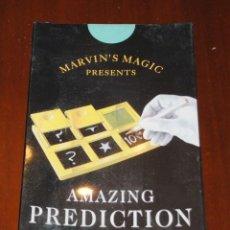 Juguetes antiguos: CAJA JUEGO DE MAGIA MARVIN'S MAGIC, AMAZING PREDICTION BOARD. NUEVO, A ESTRENAR. Lote 81829392