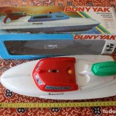 Juguetes antiguos - Lancha Ranetta Duny Yak NEW - 82318096