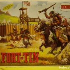 Juguetes antiguos: FUERTE FORT TIN COMANSI REF 110, AÑOS 70, MADERA, NUEVO. Lote 127208746