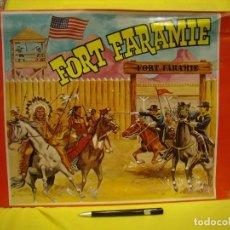 Juguetes antiguos: FUERTE FORT FARAMIE DE JUGUETES IA, REF 1501, AÑOS 70 , MADERA, NUEVO. Lote 83942588