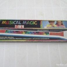 Juguetes antiguos: JUGUETE ANTIGUO ELECTRONICO MUSICAL MAGIC DE CONGOST, 1979. Lote 84551404
