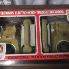 Juguetes antiguos: TELEFONO ELECTRONICO- TRANSISTORIZADO JEMSA. NUEVO DE JUGUETERIA. Lote 84631816