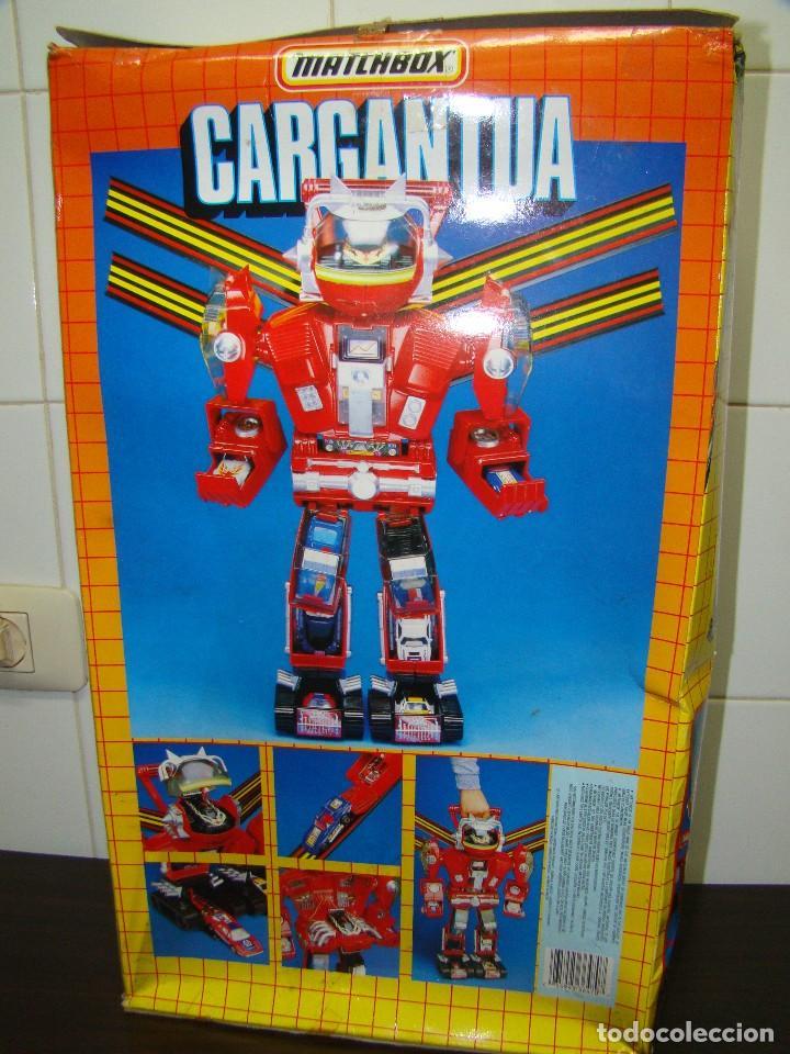 Juguetes antiguos: ROBOT CARGANTUA - MATCHBOX - Foto 2 - 85097280