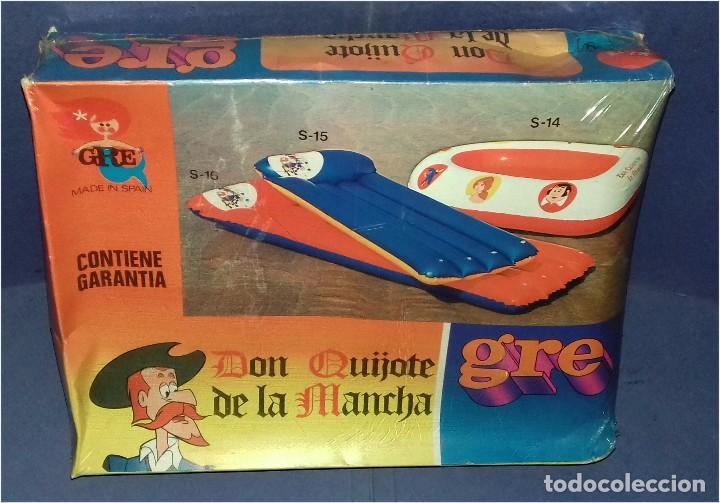 EMBARCACIÓN HINCHABLE - GRE - MEDIDAS 120 X 90 CM - SERIE DON QUIJOTE DE LA MANCHA - 1979 (NUEVA) (Juguetes - Marcas Clasicas - Otras Marcas)