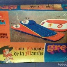 Juguetes antiguos: EMBARCACIÓN HINCHABLE - GRE - MEDIDAS 120 X 90 CM - SERIE DON QUIJOTE DE LA MANCHA - 1979 (NUEVA). Lote 85144496