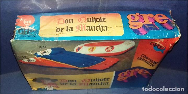 Juguetes antiguos: EMBARCACIÓN HINCHABLE - GRE - MEDIDAS 120 X 90 CM - SERIE DON QUIJOTE DE LA MANCHA - 1979 (NUEVA) - Foto 2 - 85144496