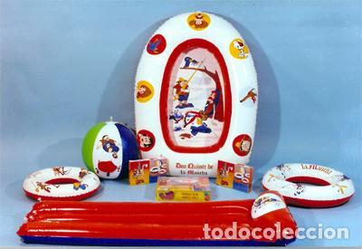 Juguetes antiguos: EMBARCACIÓN HINCHABLE - GRE - MEDIDAS 120 X 90 CM - SERIE DON QUIJOTE DE LA MANCHA - 1979 (NUEVA) - Foto 7 - 85144496