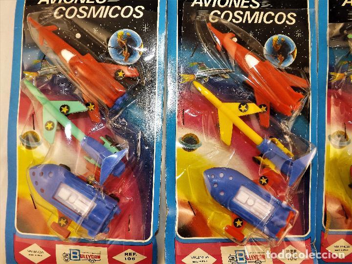 Juguetes antiguos: Bullycan Aviones Cósmicos - Foto 3 - 86344420