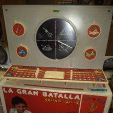 Juguetes antiguos: JUGUETES GRACIA 1976 - RADAR GR - 6.LA GRAN BATALLA.CON CATÁLOGO E INSTRUCCIONES.. Lote 87570132