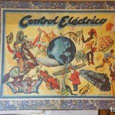 Juguetes antiguos: JUEGO DE CONTROL ELECTRONICO DE PREGUNTAS Y RESPUESTAS DE AGAPITO BORRAS AÑOS 40/50. Lote 88886148