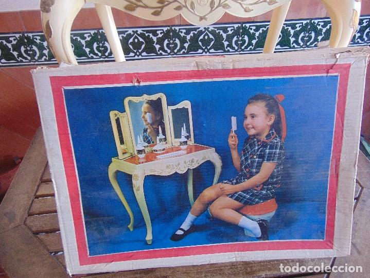 Juguetes antiguos: JUGUETE PARA NIÑA TOILETTE DE MARY PERY DESMONTABLE CON PUFF Y ACCESORIOS - Foto 2 - 89032156