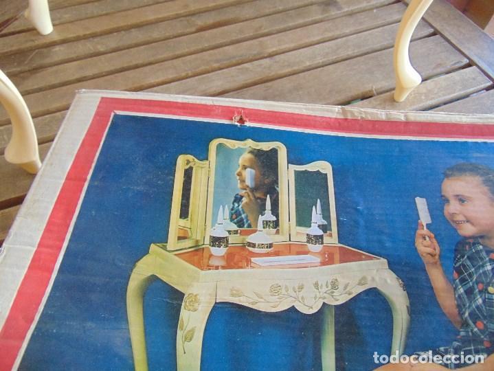 Juguetes antiguos: JUGUETE PARA NIÑA TOILETTE DE MARY PERY DESMONTABLE CON PUFF Y ACCESORIOS - Foto 5 - 89032156