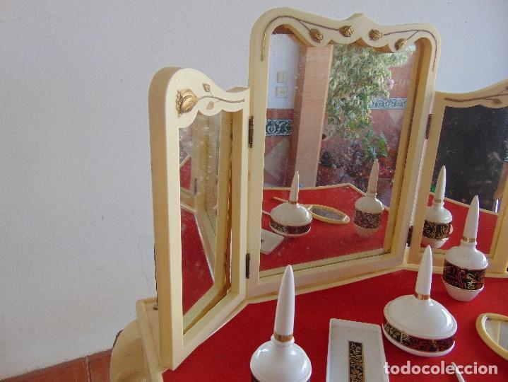 Juguetes antiguos: JUGUETE PARA NIÑA TOILETTE DE MARY PERY DESMONTABLE CON PUFF Y ACCESORIOS - Foto 6 - 89032156