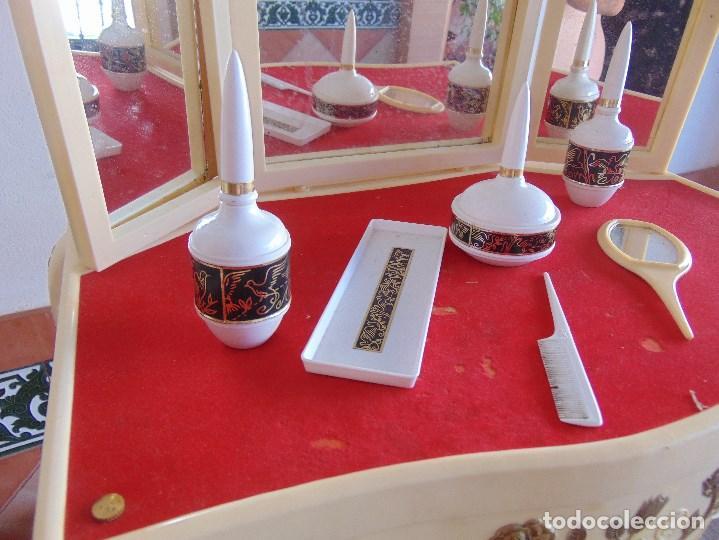 Juguetes antiguos: JUGUETE PARA NIÑA TOILETTE DE MARY PERY DESMONTABLE CON PUFF Y ACCESORIOS - Foto 7 - 89032156