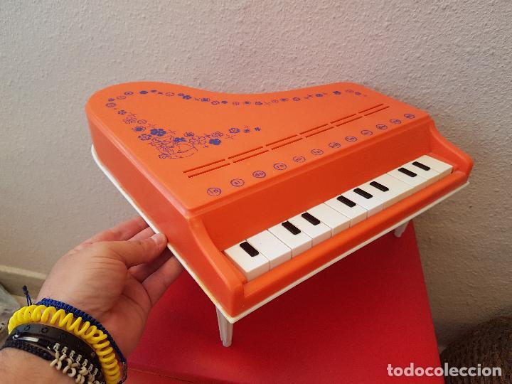 GRAN PIANO DE COLA JUGUETE CLAUDIO REIG INTRUMENTOS MUSICALES PLASTICO 12 NOTAS JUGUETES AÑOS 70 (Juguetes - Marcas Clasicas - Otras Marcas)