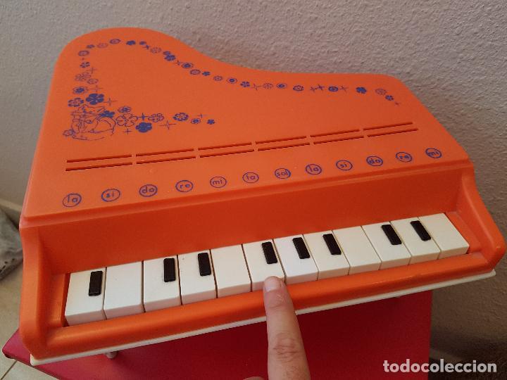 Juguetes antiguos: GRAN PIANO DE COLA JUGUETE CLAUDIO REIG INTRUMENTOS MUSICALES PLASTICO 12 NOTAS JUGUETES AÑOS 70 - Foto 4 - 89605904
