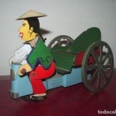 Juguetes antiguos: TAXI CHINO, DE COMANDO ( IBI). Lote 89679340